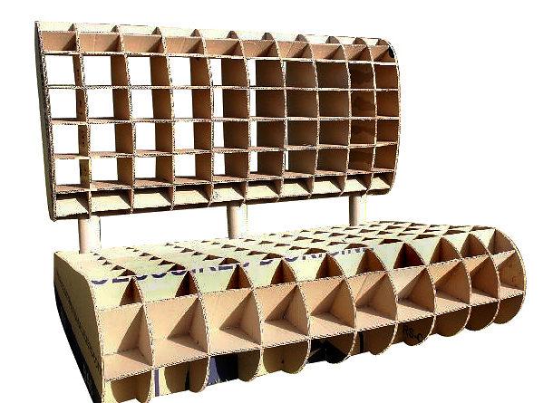 meuble en carton