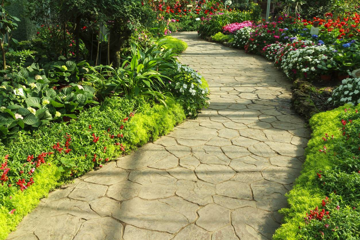 création allée de jardin