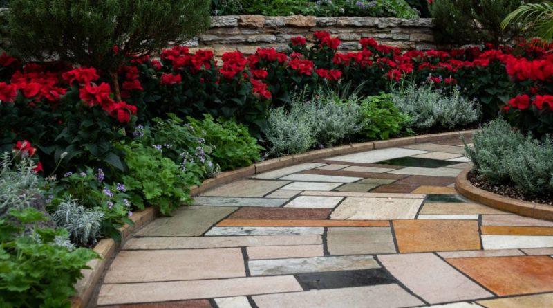 Créer allée de jardin