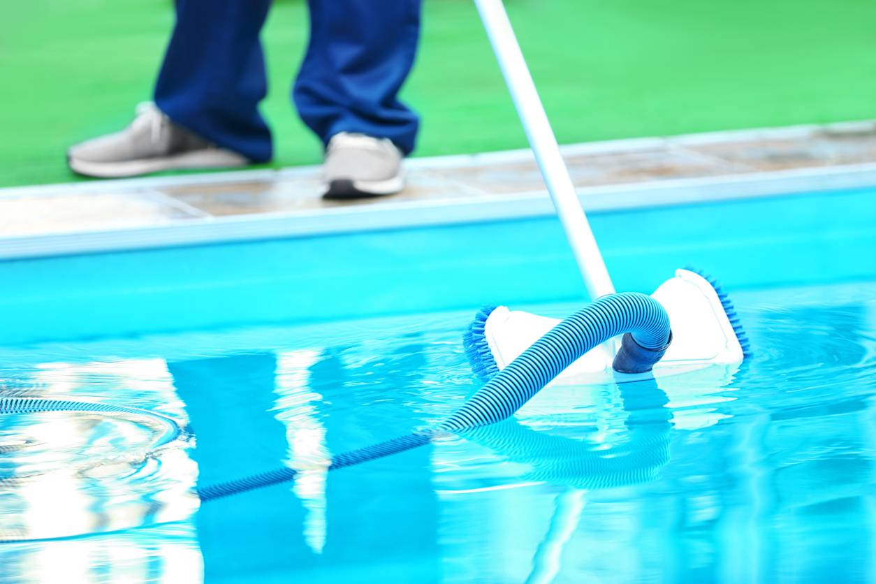 astuce nettoyage piscine