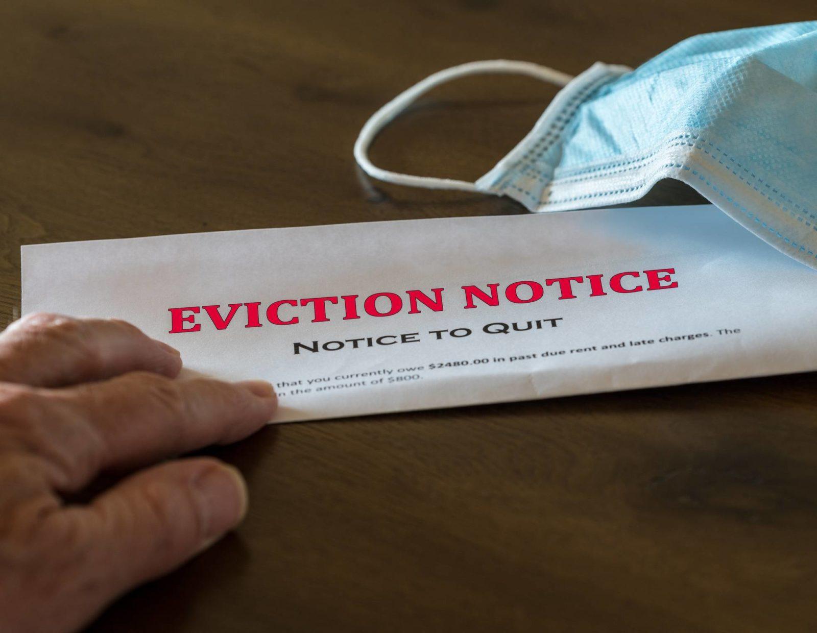 notice d'éviction